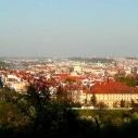 Prague panorama from the Petrin hill