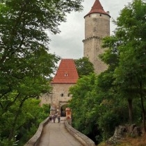 Zvíkov castle entrance